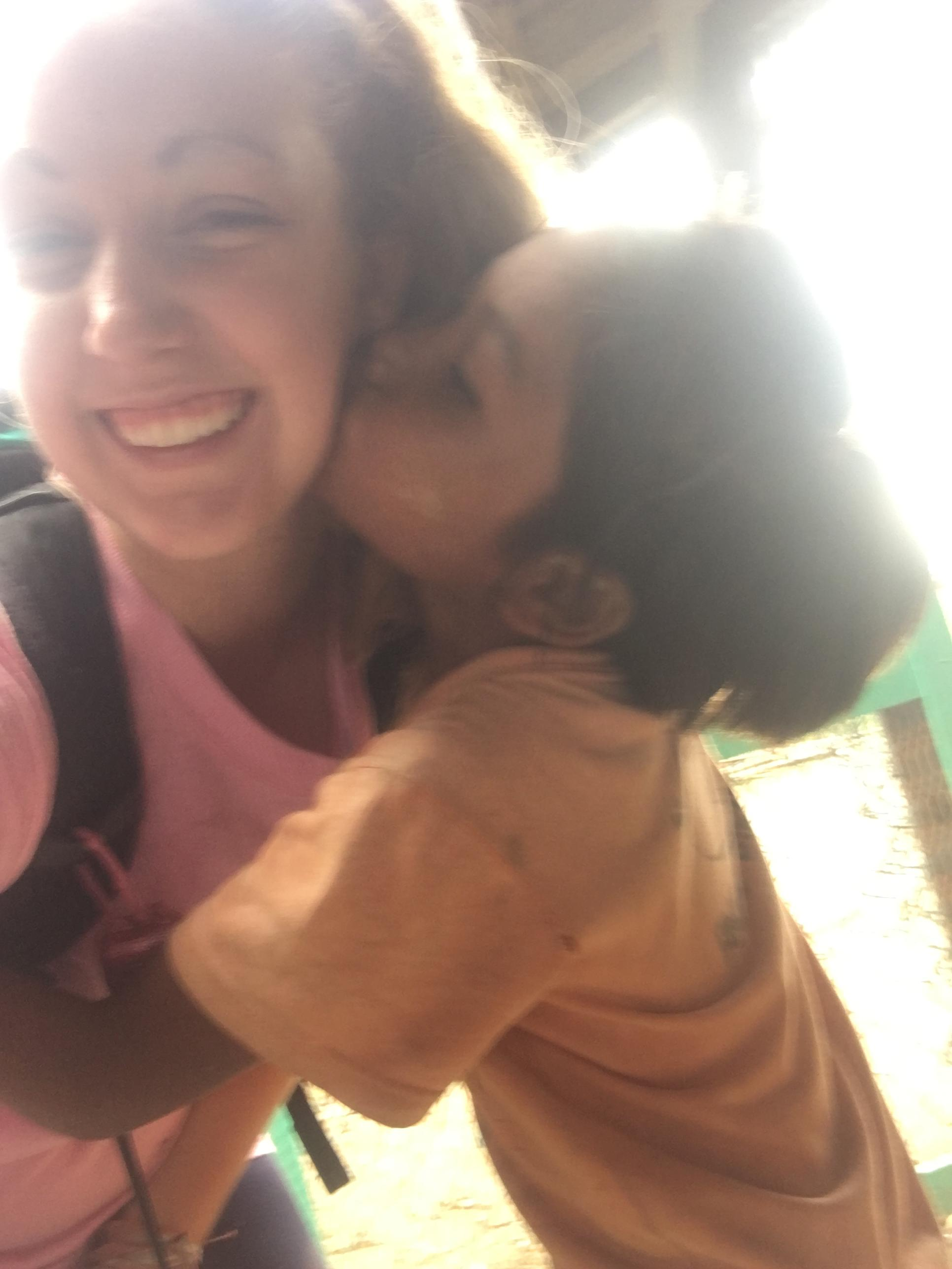 Coker College Enactus students bonded with local children during a recent service trip to Dala, Myanmar