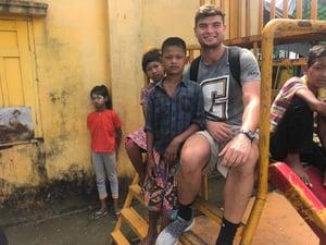 Evan in Myanmar