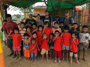 Group shot Enactus Myanmar