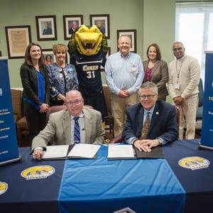 Richmond CC Signing Group Shot