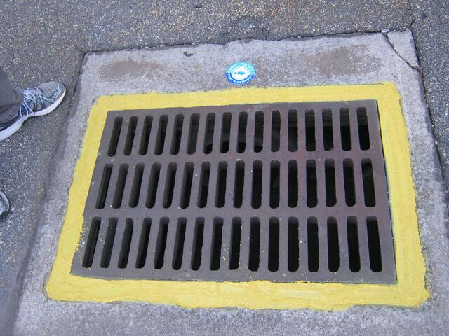 storm drain marker